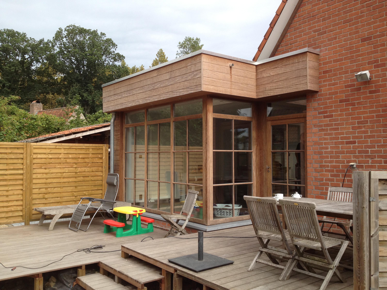 Uitbouw hout for Goedhart deuren