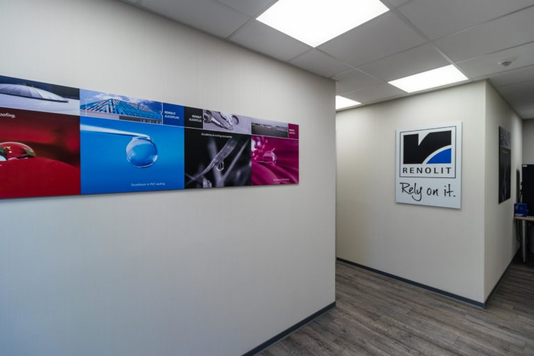 renovatie bureau plafond verlichting