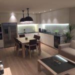 Nieuwpoort - na - keuken - verlichting - glas - parket