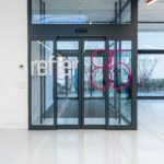 feestzaal - sas glas - automatische deur