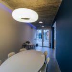ramen alu - plaatwerk - verlichting - vloer - wanden