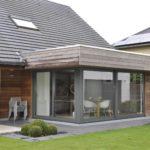 ramen - alu - uitbouw - hout - terras