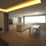 keuken-parket-verlichting-vloer