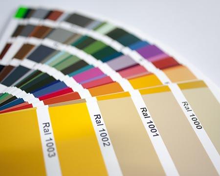 RAL-kleuren: hoe ziet u door de bomen het bos?
